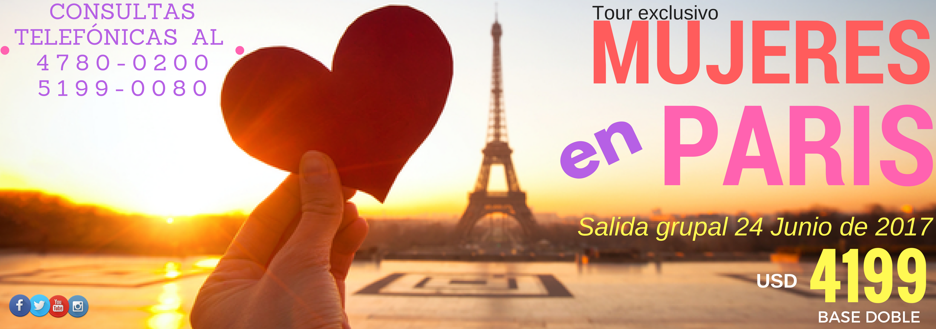 Tour Mujeres en paris