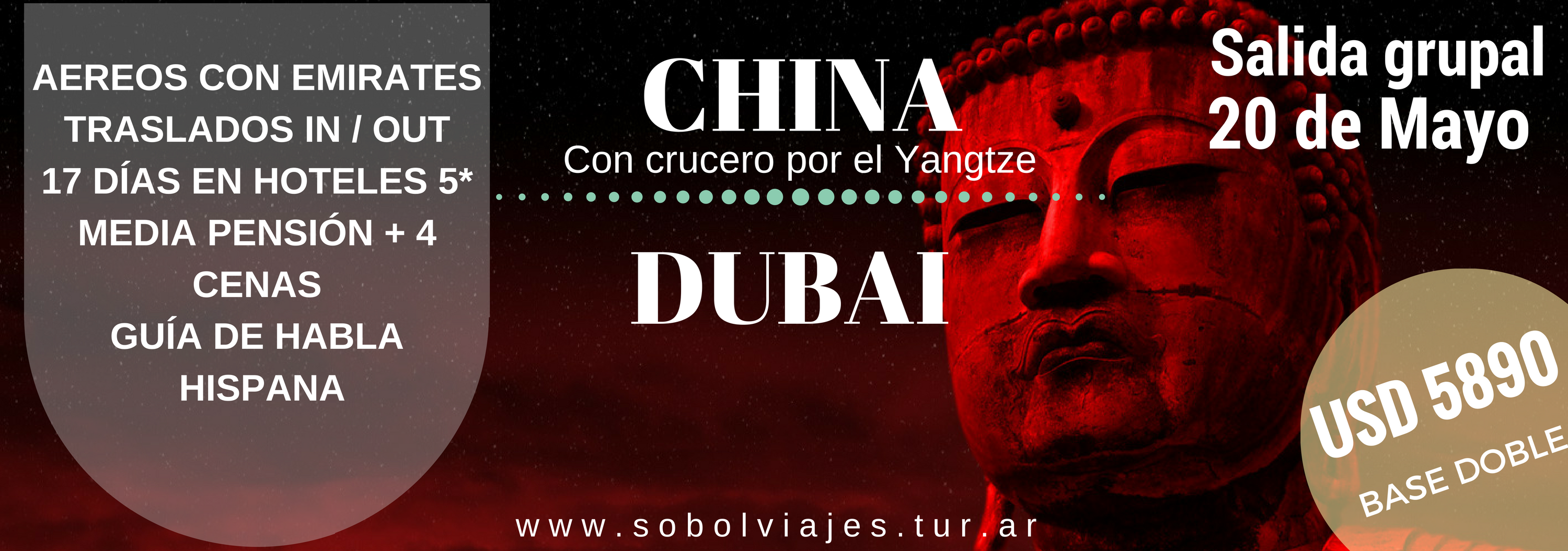 Salida grupal China + Dubai